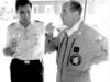Le COMAIR et le col Massimo MONTANARI, commandant de la base italienne de Rivolto