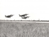 Décollage en patrouille serrée à Banguii-1984-tonio-est-en-position-de-leader