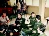 1986 avril au bar de l'aeroport à N'Djamena