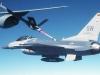 "Technique ""rigid flying boom"" sur F16 US"