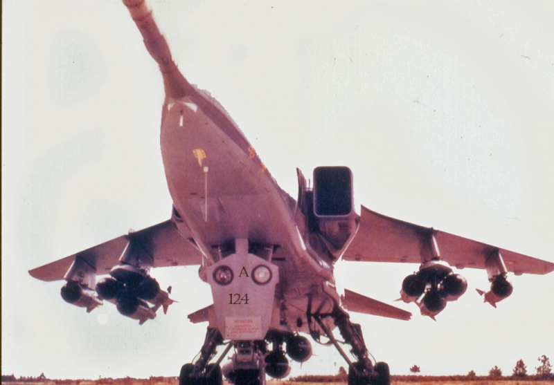 JAG A124 bombes 11X250kg