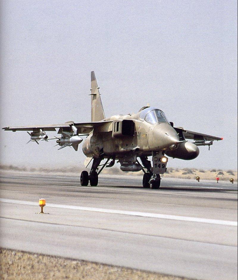 Jaguar équipé d'un POD AGL et d'un missile AS30L