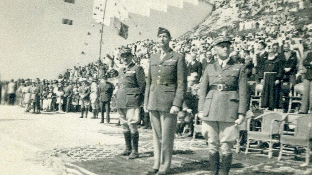 Agadir visite du général Clark