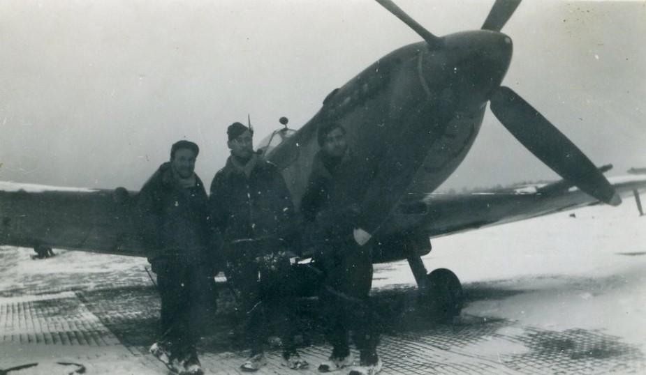 Toul 5 Janvier 1945 Les mécanos équipements
