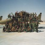 1991 le staff du 1-11 à Al Ahsa