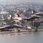 Libreville défilé présidence
